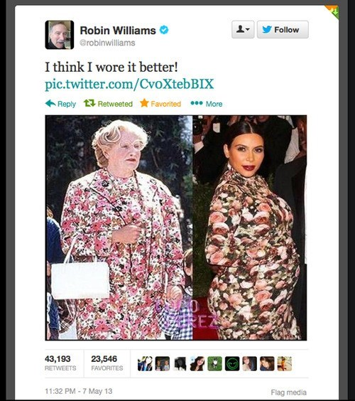 twitter,totally looks like,robin williams