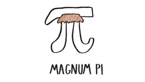magnum pi,puns,pi,funny,Pi Day