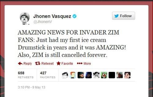 twitter Invader Zim jhonen vasquez funny - 7446514176