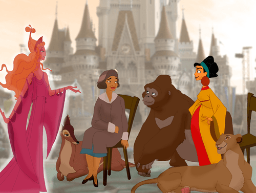 disney Fan Art moms mothers day