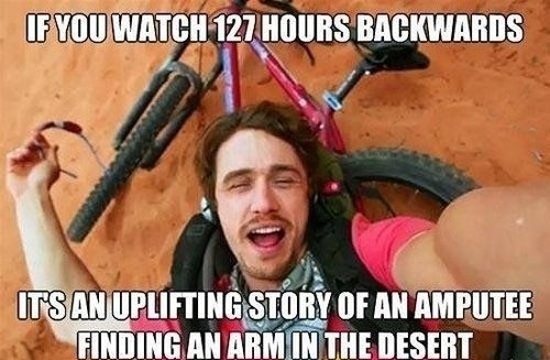 127 Hours,movies,james frando,funny