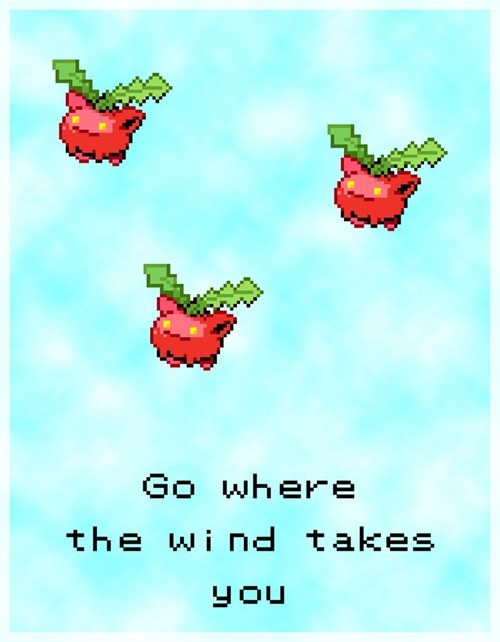 Pokemon's Life Lessons - Go Where The Wind Takes You