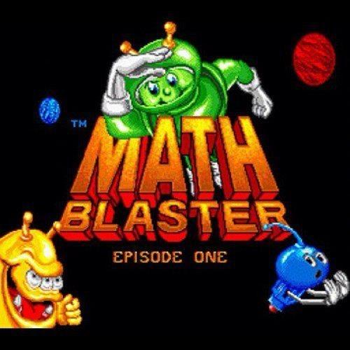 math blaster nostalgia awesome video games funny