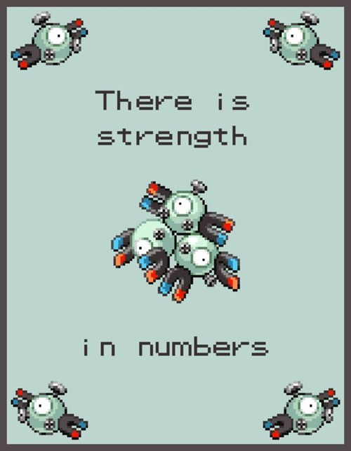 Pokemon Lesson for Life - Strength in Numbers.