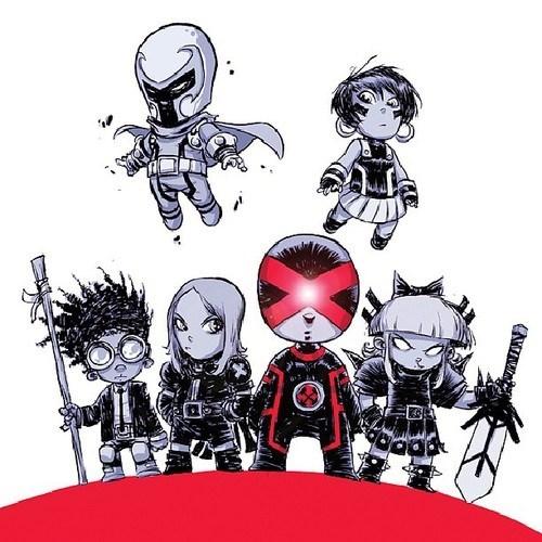 adorable art x men cyclops funny - 7446896384