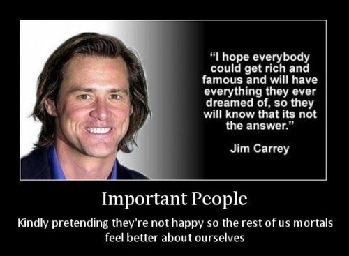 important people,idiots,funny,rich,jim carrey