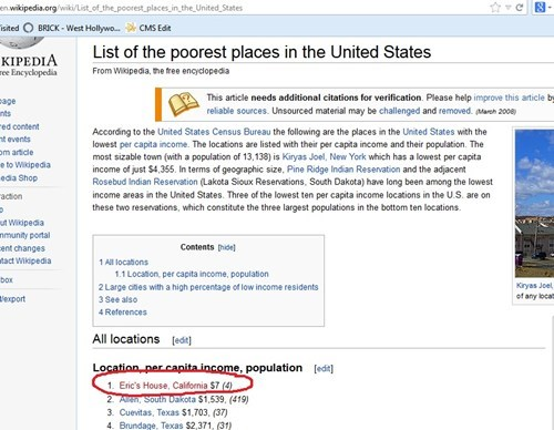 South Dakota Eric get it together wikipedia funny
