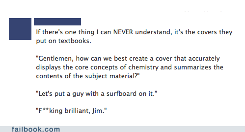 class textbooks school Chemistry funny failbook - 7447686400