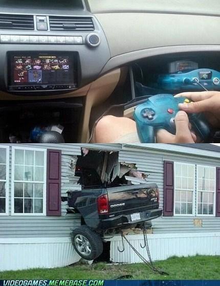 driving video games funny nintendo - 7447697408