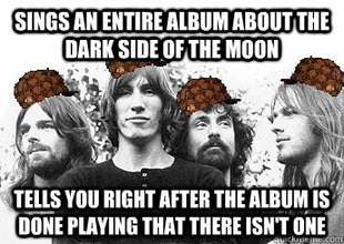 Dark Side of the Moon pink floyd scumbag hat spoiler Music funny - 7448802560
