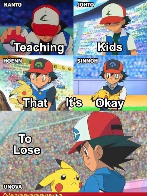ash,Pokémon,anime,losing,funny