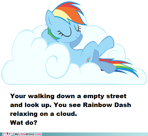 bloodythumbsup weather funny rainbow dash - 7449222912
