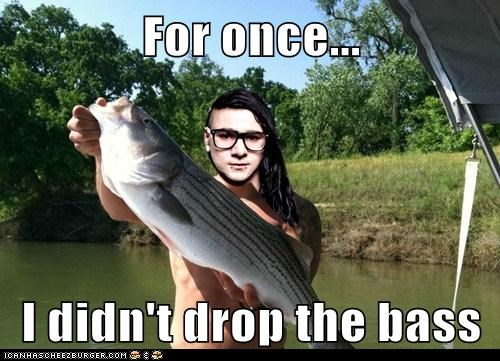 For once...  I didn't drop the bass