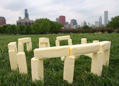 wtf butter stonehenge funny - 7449877248