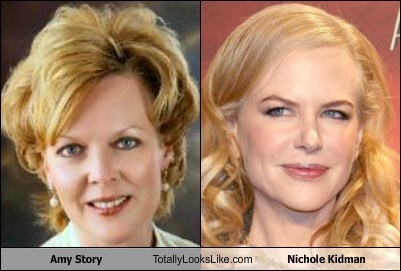 Amy Story Totally Looks Like Nichole Kidman