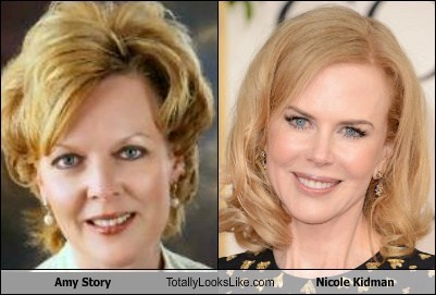 Amy Story Totally Looks Like Nicole Kidman