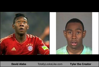 david alaba totally looks like Tyler The Creator funny - 7450743552
