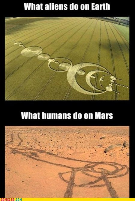 Aliens,Mars,funny,earth