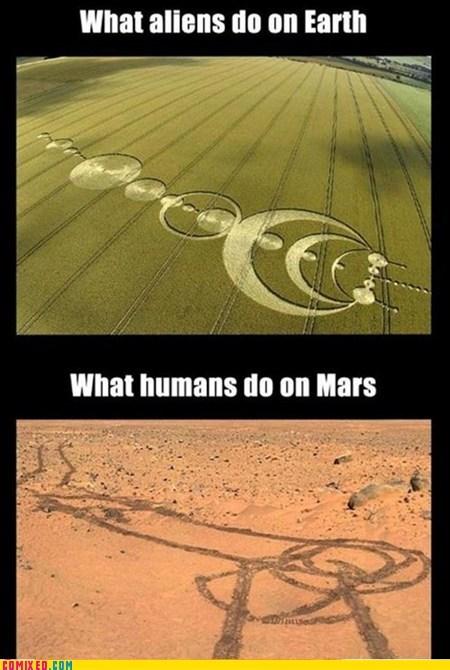 Aliens Mars funny earth - 7451429888