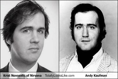 eyebrows Krist Novoselic andy kaufman totally looks like funny - 7451692544