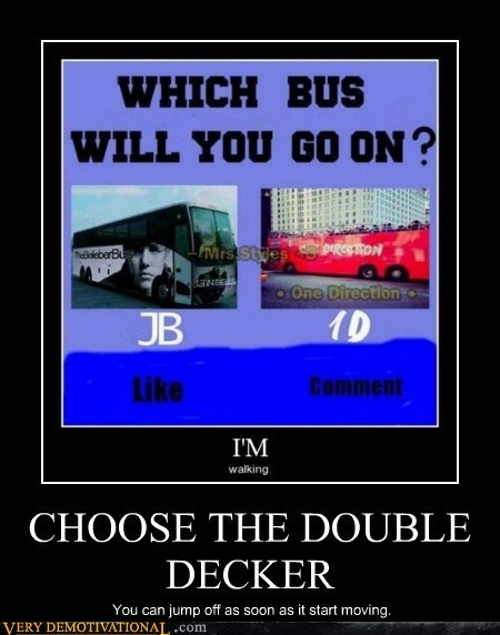 double decker jump off bus - 7452314880