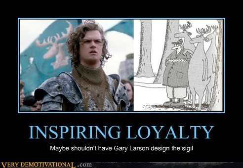 sigil Game of Thrones gary larson funny