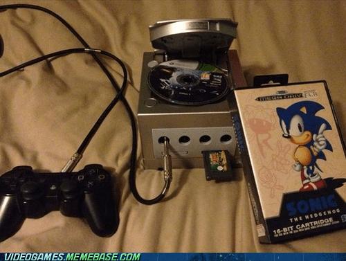 playstation wtf gameboy advance gamecube sega halo video games funny - 7453091328