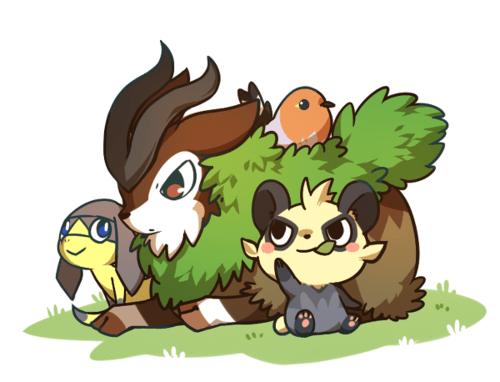gen VI Pokémon art dawww funny - 7453174784