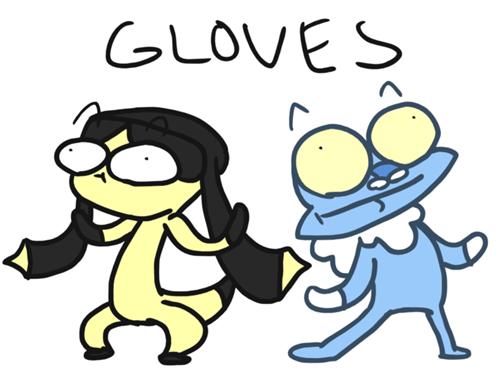 Elikiteru gen VI gloves froakie funny - 7453185536
