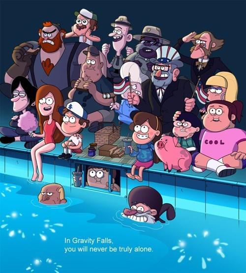 Fan Art gravity falls cartoons - 7453211392