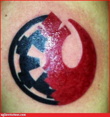 star wars FAIL tattoos funny - 7453537792