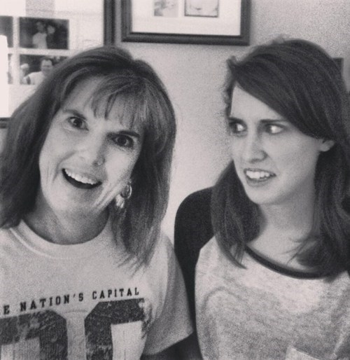 oag laina walker overly attached mom overly attached girlfriend mothers day funny - 7453575168
