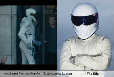 the stig,totally looks like,peacekeeper,funny