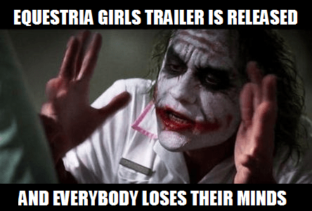 equestria girls joker Memes the dark knight funny - 7454025472