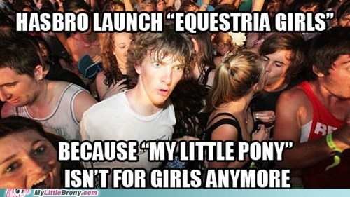 equestria girls Memes funny sudden clarity clarence - 7454259968