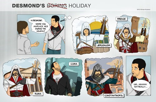 gamers,assassins creed,holidays