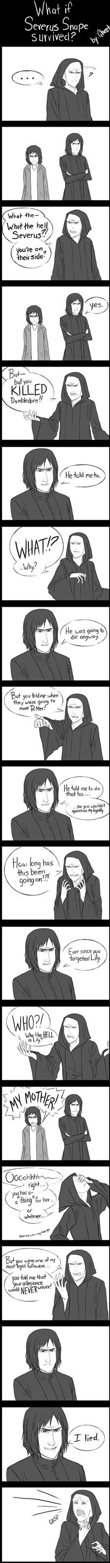 Harry Potter Severus Snape funny - 7454670080