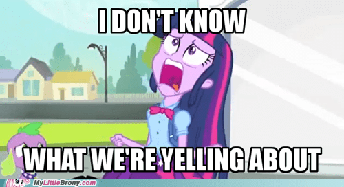 rage equestria girls twilight sparkle dafuq spike is a dog lol funny - 7454719488