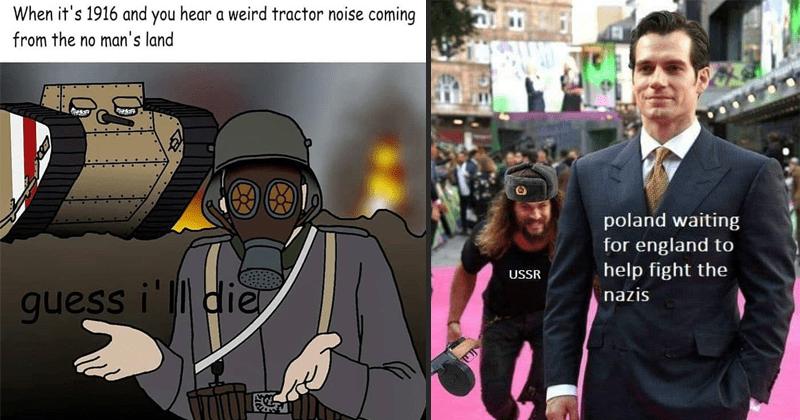 Funny memes, history memes, world war, war memes.