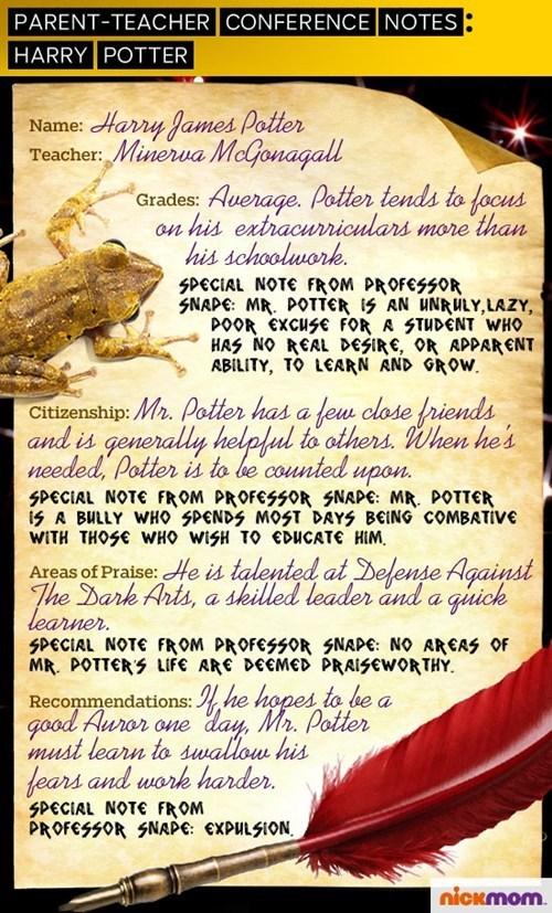 Harry Potter parent teacher conference - 7455603456