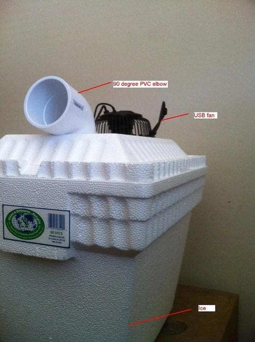 DIY funny air conditioner - 7455656960