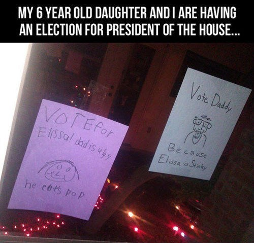 poop signs election funny g rated parenting - 7455660288