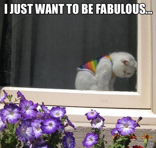 Sad,fabulous,funny,rainbow