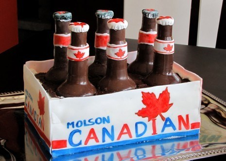 cake beer funny molson after 12 g rated - 7455835904