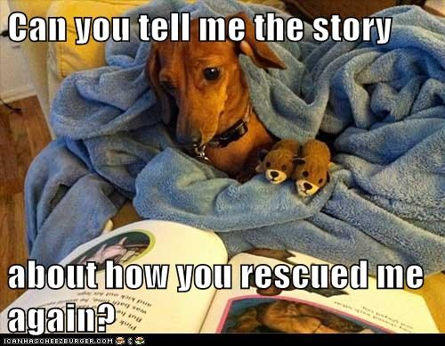 cute Story Time rescue