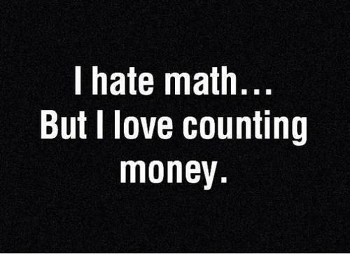 math money counting