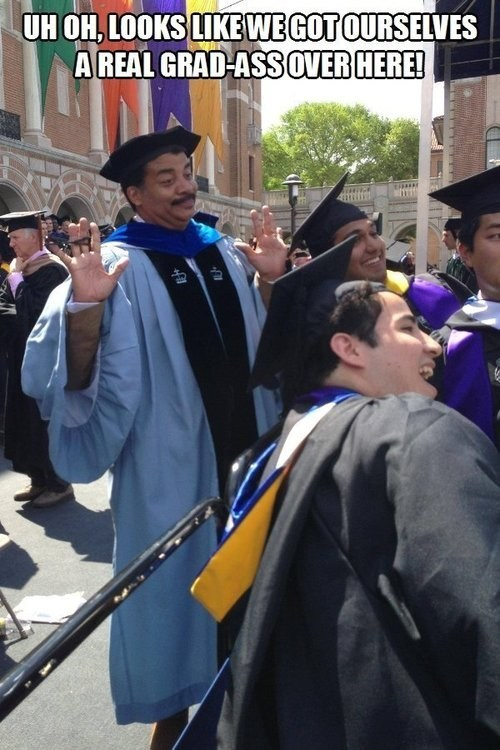graduation IRL Neil deGrasse Tyson funny - 7456084480