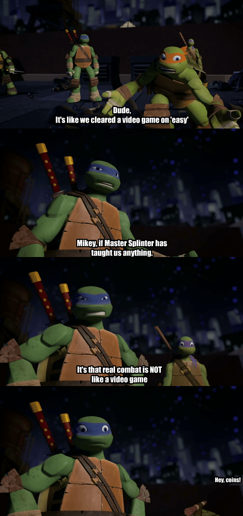 TMNT fight video games funny - 7456299776
