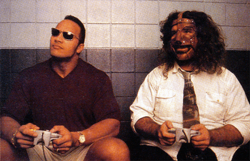 wtf,mankind,Videogames,the rock,funny