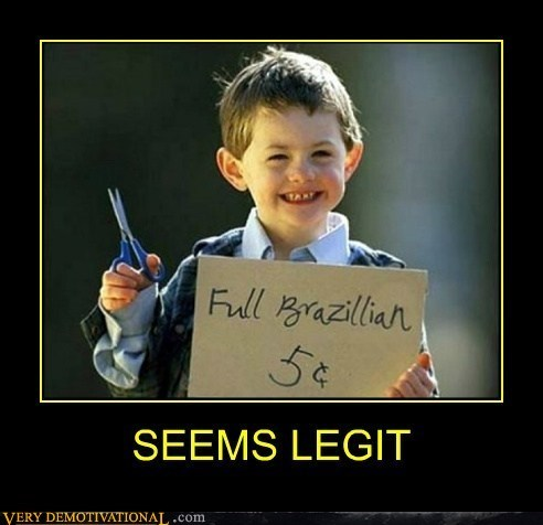 kid full brazilian scissors funny seems legit - 7456417024